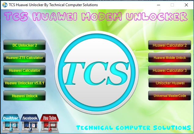 TCS Huawei Modem Unlocker Free Download