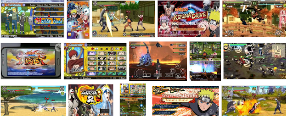 Naruto Shippuden Game PPSSPP Android