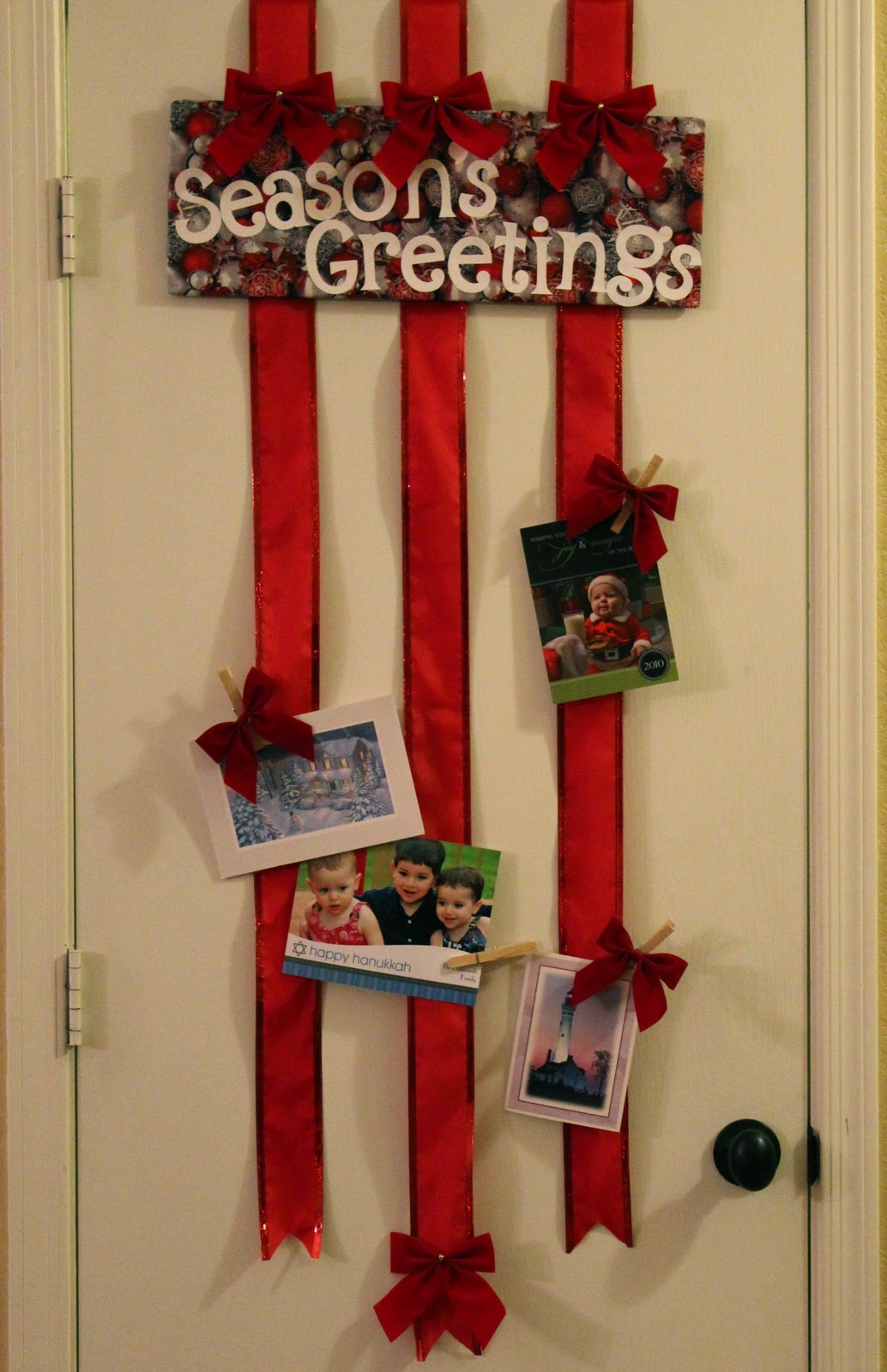 It S Written On The Wall Christmas Cards Arriving How To