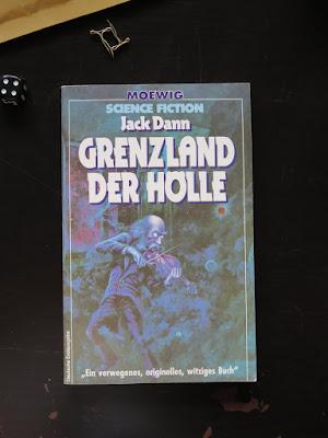 Jack Dann: Grenzland der Hölle, Moewig (1985)