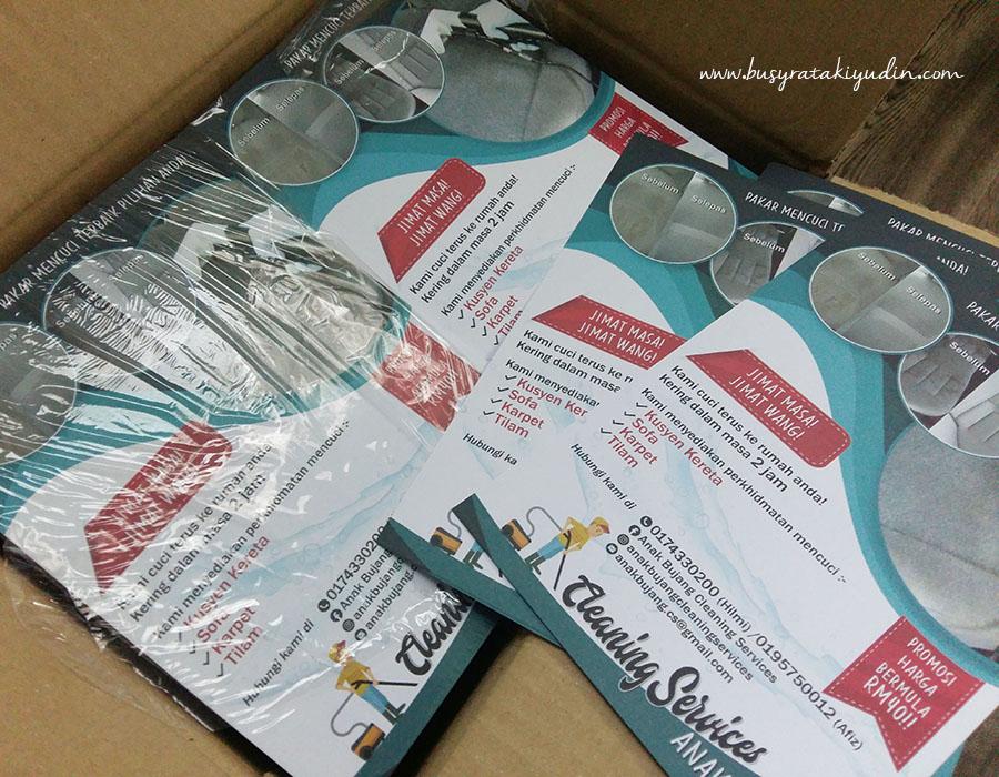 flyers murah, flyers, flyers alor setar, print flyers, design flyers,