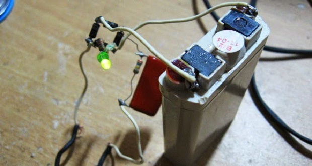 How to make a simple battery charger 3 volts, without using a transformer