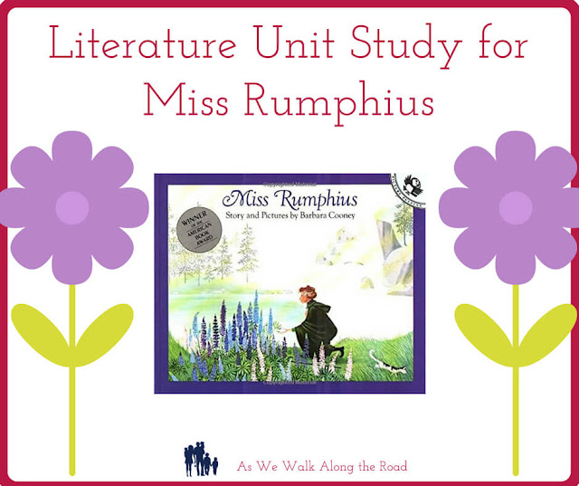 Literature unit study for Miss Rumphius