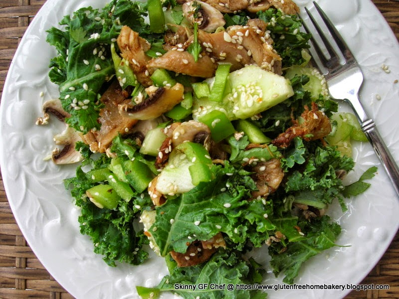 gluten free salad, Thai Chicken Salad