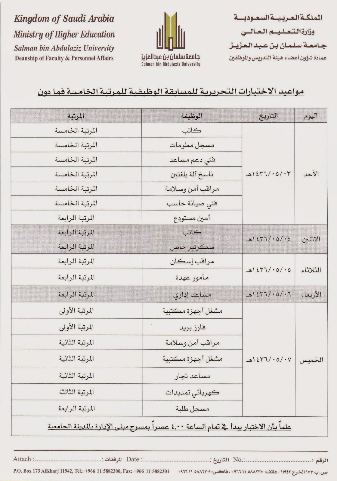 سلم رواتب المؤسسة العامة للتدريب التقني والمهني 1436 Asyalafi Blogspot Com