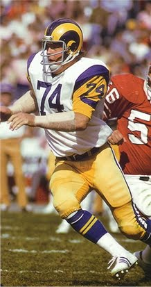 Today in Pro Football History: MVP Profile: Merlin Olsen, 1974