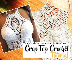 Cómo Tejer un Crop Top a Crochet / Tutorial en video