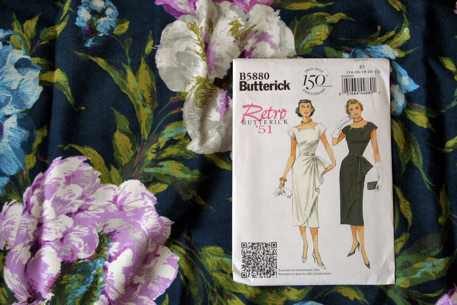 Fall For Cotton A Sewing Challenge Butterick 5880