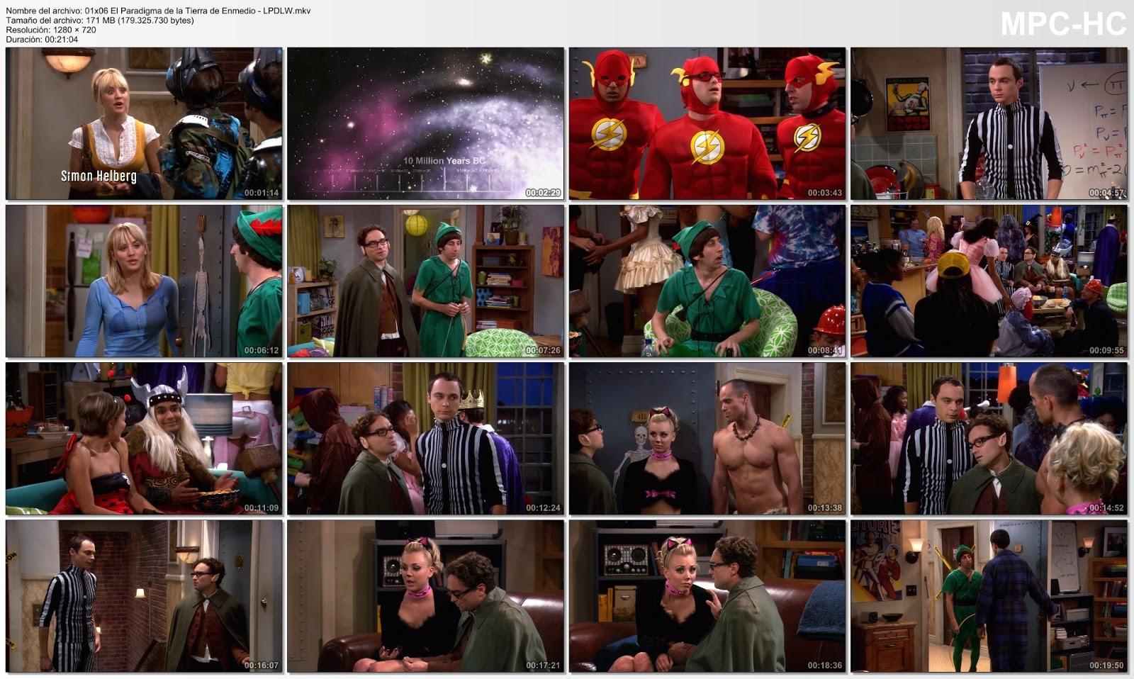 La Teoria del Big Bang - Temporada 1 - 720p - Latino [Mega]