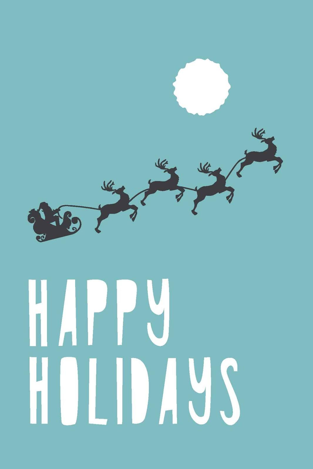 Free Happy Holidays Cards