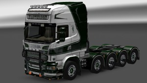 Scania R 2009 Addon chassis 10×4 by 50keda