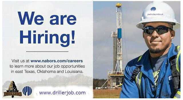 Nabors Drilling Company Hiring For Drilling Crew September 2018
