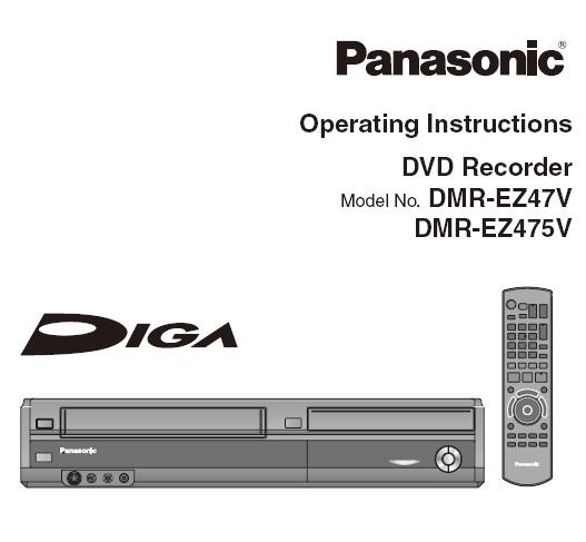 panasonic remote control instructions