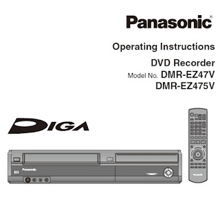 Panasonic DMR-EZ48V Manual