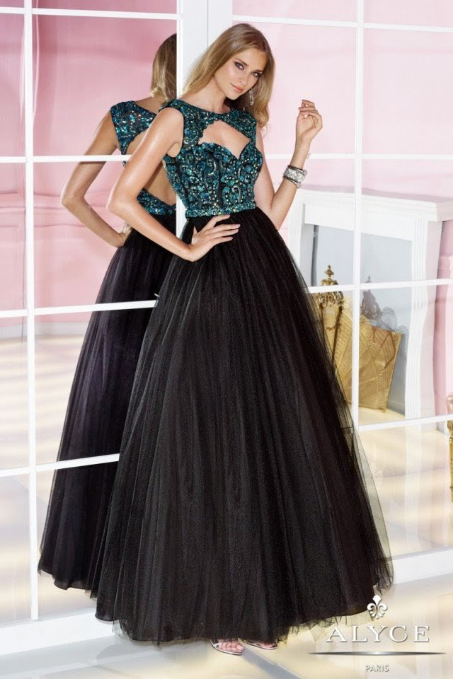 New Party Wear Prom Dresses For Young Girls By Alyce Paris From 2014 ...