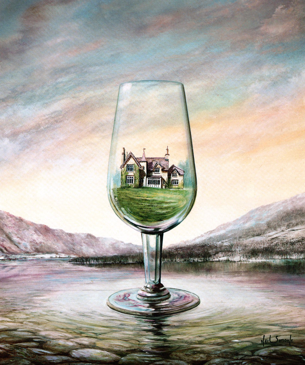 15-The-House-of-Glass-Neil-Simone-Surreal-Paintings-and-Optical-Illusions-www-designstack-co