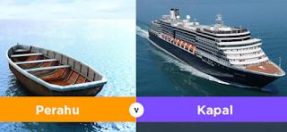 Dalam Penyebutan Biasanya masyarakat umum Mendefinisikan pengertian antara kapal dan pera Kabar Terbaru- PERBEDAAN KAPAL DAN PERAHU YANG PERLU PELAUT TAHU
