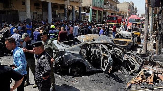 35 Maut Dalam Serangan Bunuh Diri Di Baghdad