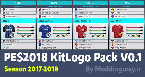 PES 2018 Kit Logopack V0.1