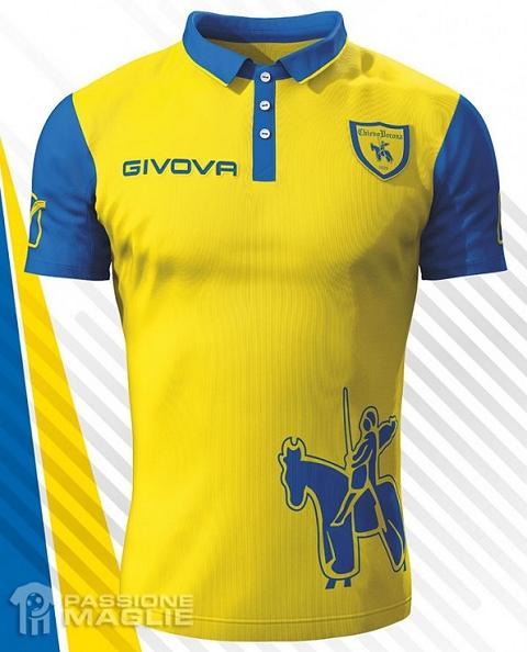 Givova lança as novas camisas do Chievo Verona - Show de Camisas d93c48e26ca34