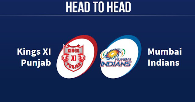 MI vs KXIP Head to Head: KXIP vs MI Head to Head IPL Records