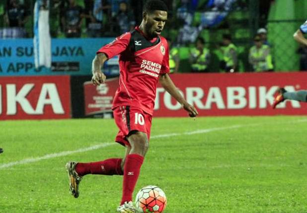 Vendry Mofu pada menit ke-89 Pencetak Gol Semen Padang