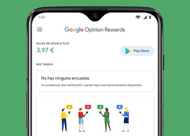 تطبيق غوغل الذي يدفع لكم الكثير من المال مقابل الإجابة على الاستبيانات يحصل على تحديث جديد