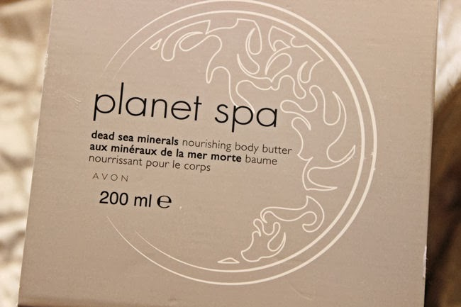 Avon Planet Spa body butter