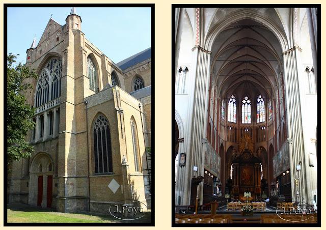 La catedral de San Salvador de Brujas