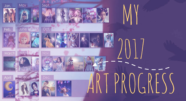 My 2017 Art Progress - The Good, The Bad and The Ugly!