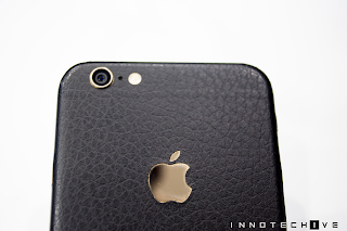 Skinnova Skin iPhone 6 Black Leather