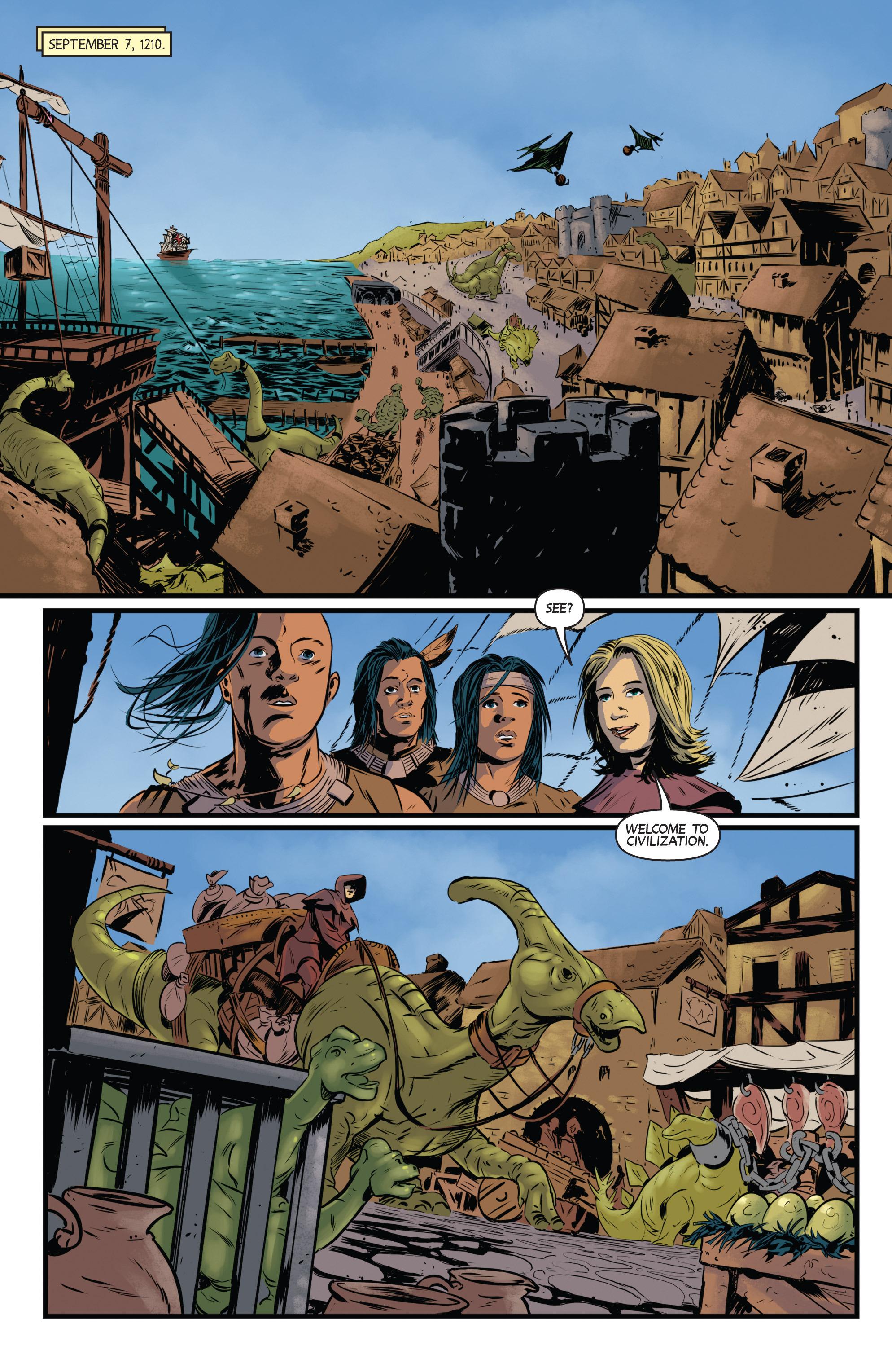 Read online Turok: Dinosaur Hunter (2014) comic -  Issue # _TPB 3 - 24