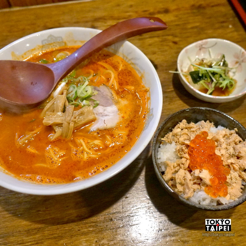 【ISEKURA】登別溫泉街燒肉拉麵店 紅通通赤鬼拉麵超夠味