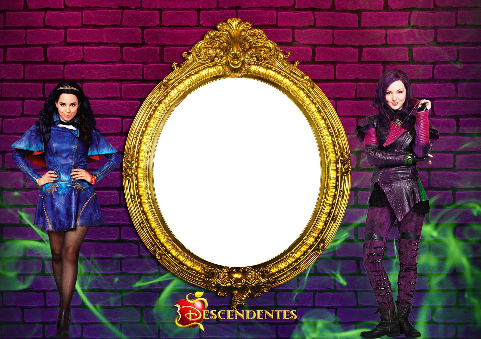 Descendants Party Free Printable Invitations Labels Or Cards