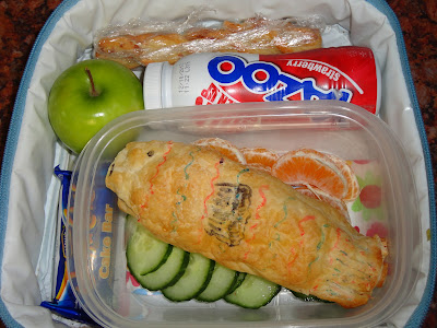 Sausage Roll Fish Bento