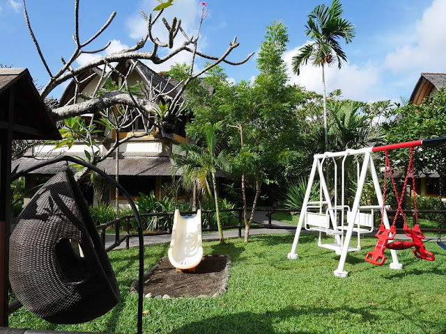 Playground di Hotel Vila Lumbung