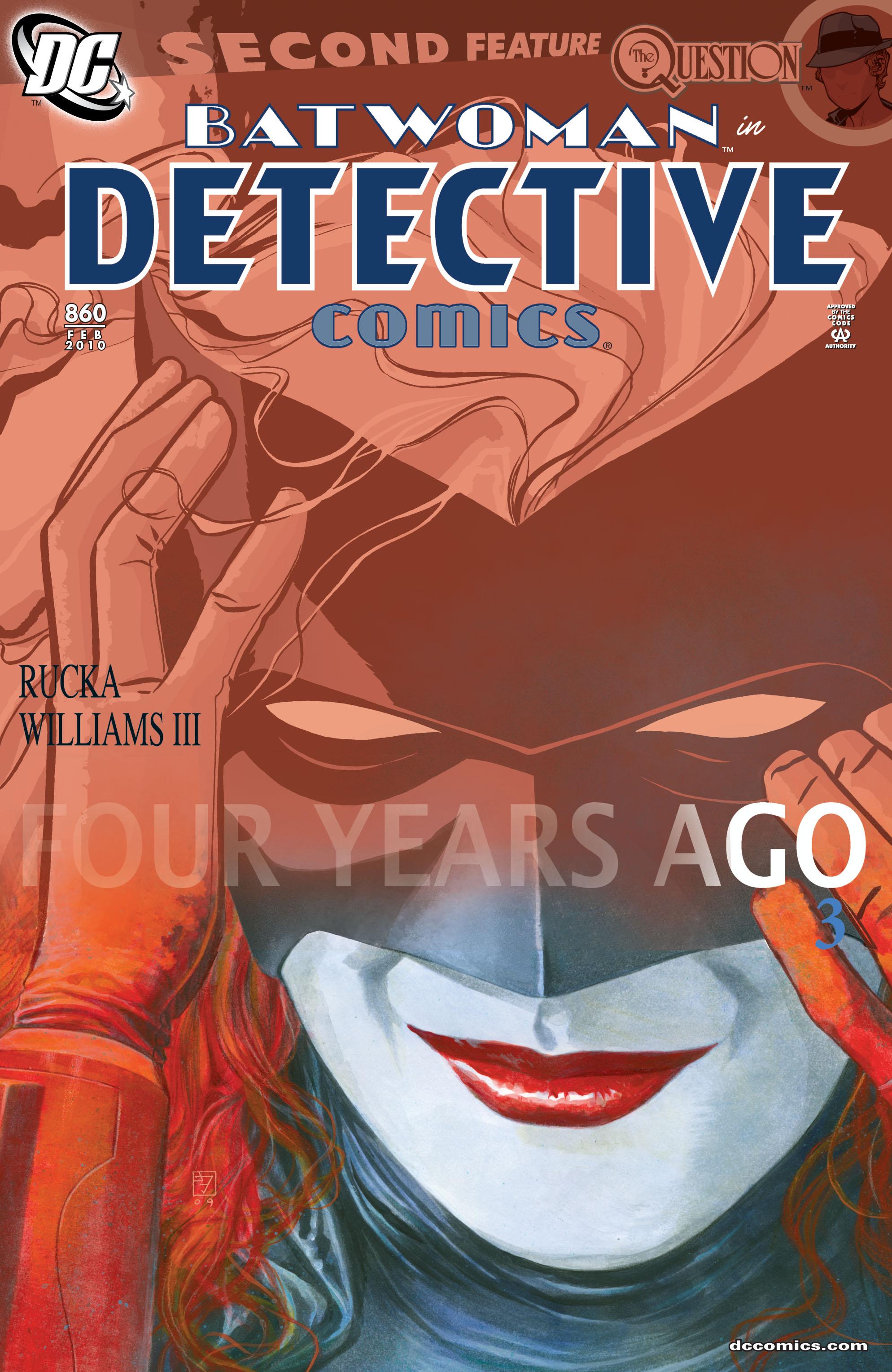 Detective Comics (1937) 860 Page 0