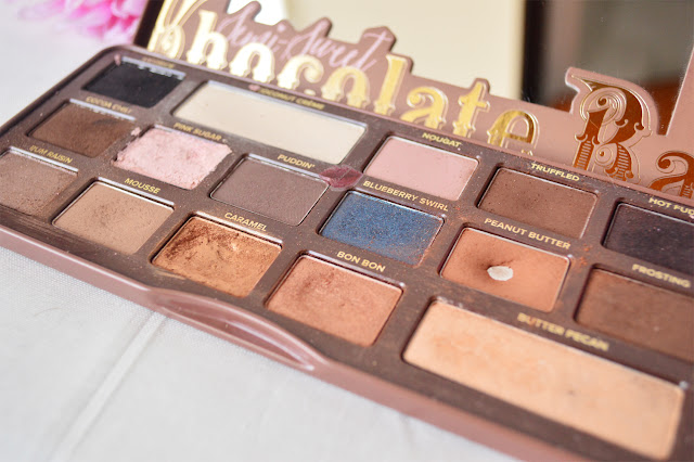 Semi-Sweet Chocolate Bar, Too Faced, Swatches