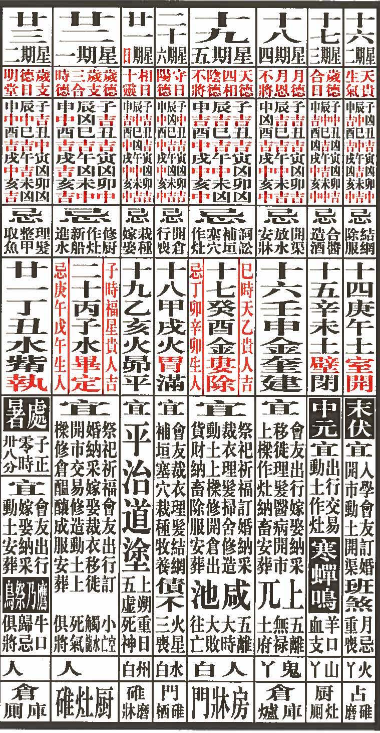 Chinese Calendar 2016 : Round and square china s lunar calendar