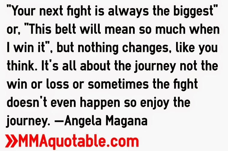 Motivational Quotes With Pictures Many Mma Ufc Angela Magana Quotes