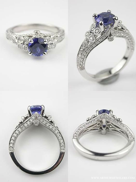 Tacori Crescent Wedding Band 59 Fancy Top Pinterest Engagement Rings