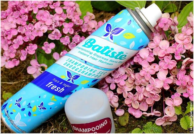Shampoing sec Fresh - Batiste - Blog beauté Les Mousquetettes©
