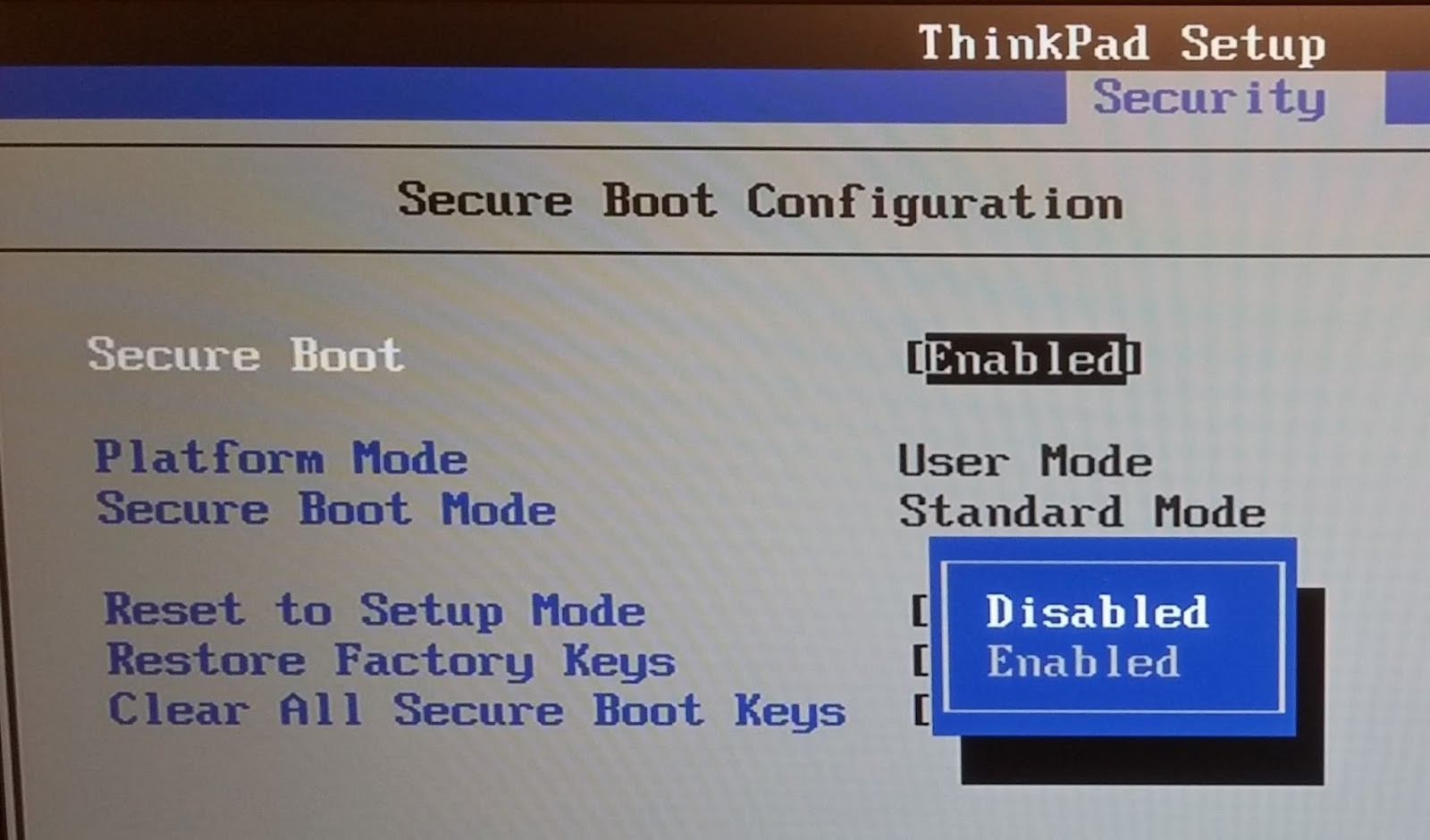 How to configure your BIOS to allow for PXE network or USB booting