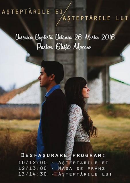 Ghita Mocan la conferinta pentru familie la Betania Timisoara - 26 martie 2016
