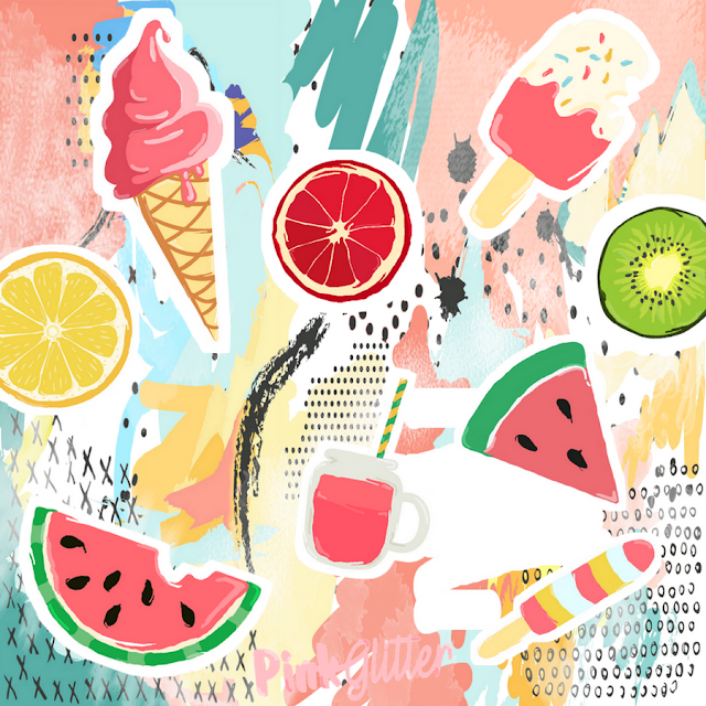 Fond d'écran ipad gratuit july heat day ice cream watermelon