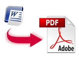 convert word files tp pdf