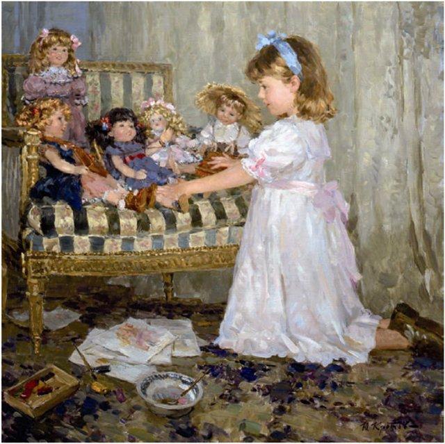 Юрий Кротов 1964 | Russian Impressionist painter