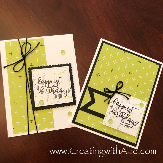 Creating With Allie Picture Perfect Birthday Facebook Live