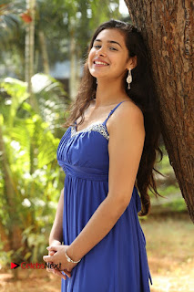 Actress Prasanna Stills in Blue Short Dress at Inkenti Nuvve Cheppu Movie Platinum Disc Function  0070.JPG