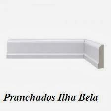 Rodapé de Poliestireno Santa Luzia 478 Branco